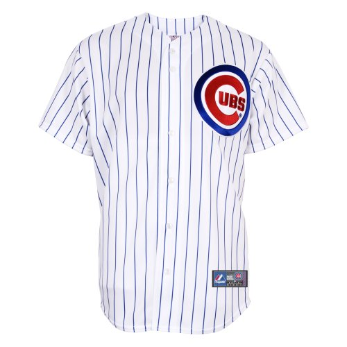 MLB Chicago Cubs Home Replica Jersey, White, Large