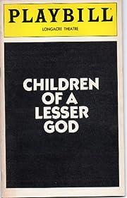 CHILDREN OF A LESSER GOD - PLAYBILL -…