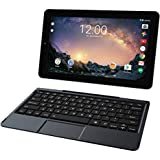 "2018 RCA Galileo Pro 11.5"" 32GB Touchscreen Tablet Computer with Keyboard Case Quad-Core 1.3Ghz Processor 1GB Memory 32GB HDD Webcam Wifi Bluetooth Android 6.0 - Charcoal"