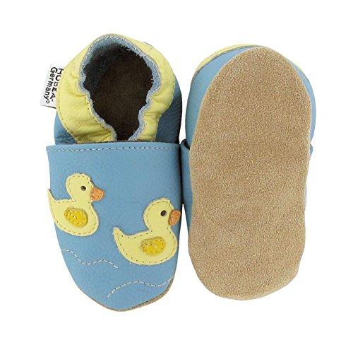 HOBEA HOBEADuck Family - Zapatos de Bebé Para BEBÉs, Unisex Azul