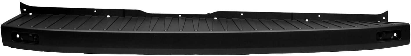 Partslink FO1105137 Fo 2015-2019 Ford Transit T 150 Cargo Van Rear Passenger Side Bumper End Cap; Textured Finish; Made Of Pp Plastic;