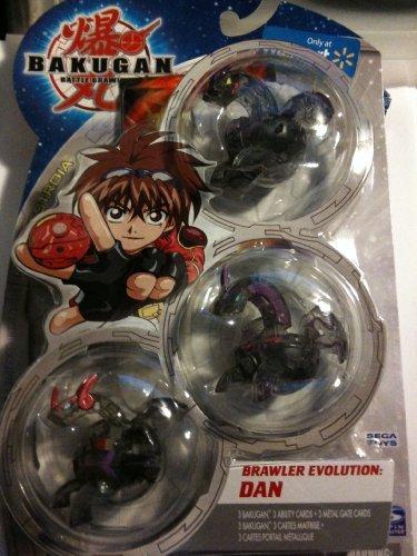 Bakugan Battle Brawlers B2 New Vestroia Limited Edition Starter Pack Brawler Evolution Dan Darkus (Toys Bakugan Battle Brawlers)