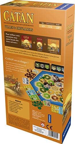 Asmodée – Catan – Extensión Ciudades y Caballeros 5/6 Jugadores, ficat08, Juego de Estrategia: Amazon.es: Juguetes y juegos