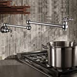 Durable Creative Kitchen faucet single cold mixing water mixing valve ceramic valve core sink sink wall concealed faucet practical