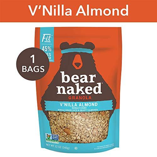 Bear Naked Vanilla Almond Fit Granola - Non-GMO | Kosher | Vegan - 12 Oz