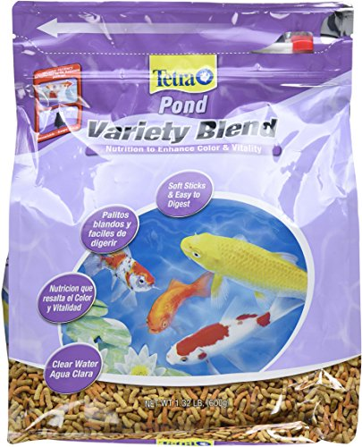 Food Fish Sticks (TetraPond 16456 Pond Variety Fish Food Sticks, 1.32-Pound)