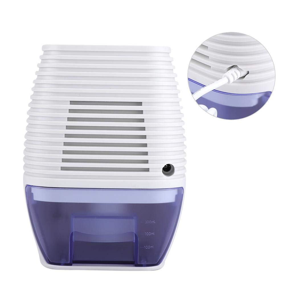 Zetiling Mini Dehumidifier,Portable Power Off Automatically Dehumidifier for Bedroom, RV, Bathroom and Compact Home, Dorm, Baby Room, Office, Kitchen(1#) by Zetiling