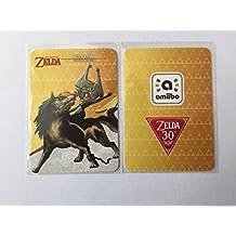 Wolf Link (20 Hearts) Amiibo Card - Breath of the Wild