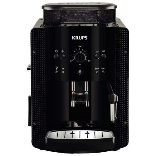 Krups EA8108 Super Fully Automatic Espresso Machine Coffee Maker, Black