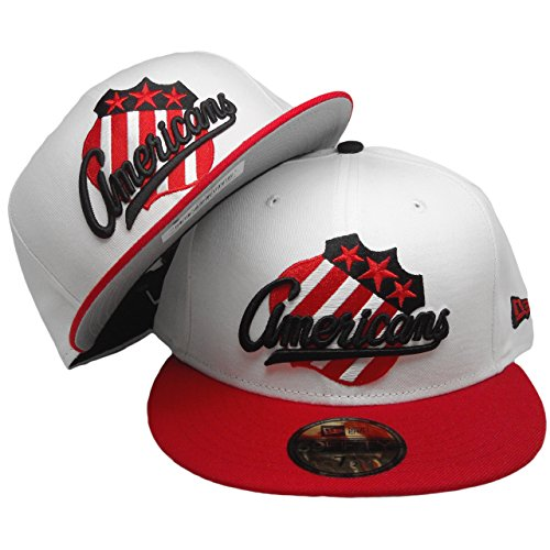 New Era Rochester Americans 59fifty Custom Fitted Hat to Match Air Jordan 2 Low Chicago (7 3/8)