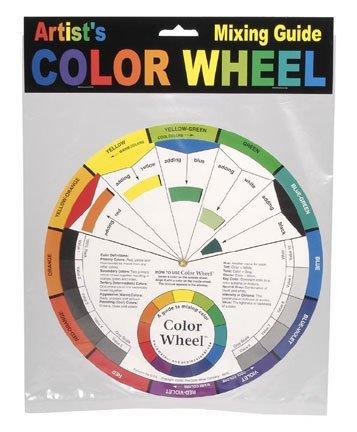 Amazon Com Artist Color Wheel Mixing Guide Color Wheels Large