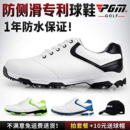 PGMは、デザイン特許を取得します!ゴルフシューズメンズ防水靴滑り止め靴の爪軽量通気性の靴   B07RZ8XVB3