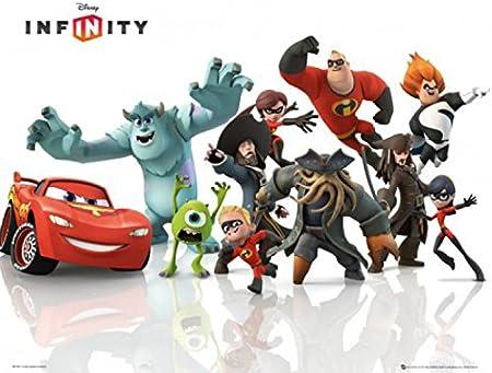 1art1 Walt Disney - Infinity, Starter Pack Póster Mini (50 x 40cm ...