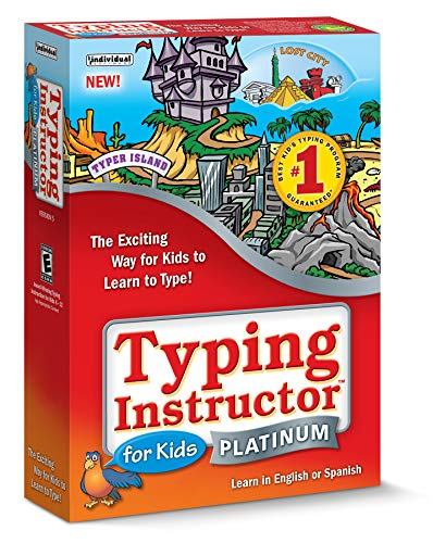 Cd Rom Kids Game Pc - Typing Instructor for Kids Platinum 5