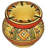 restaurant suplly - Ceramic Ashtrays Hand Made Moroccan smokeless Ceramic Vivid Colors Small