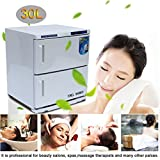 Coldcedar 2 in 1 30L 46L Towel Warmer Ultraviolet UV Sterilizer Cabinet Facial Skin Care SPA Beauty Salon Towel Disinfection Cabinet (30L)