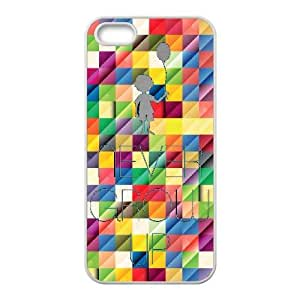 iPhone 5, 5S Phone Case Never Grow Up Cell Phone Cases TYA491053