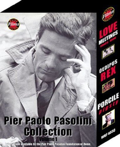 Pier Paolo Pasolini Collection, Vol. 1 (Oedipus Rex / Porcile / Love Meetings) by Water Bearer Films