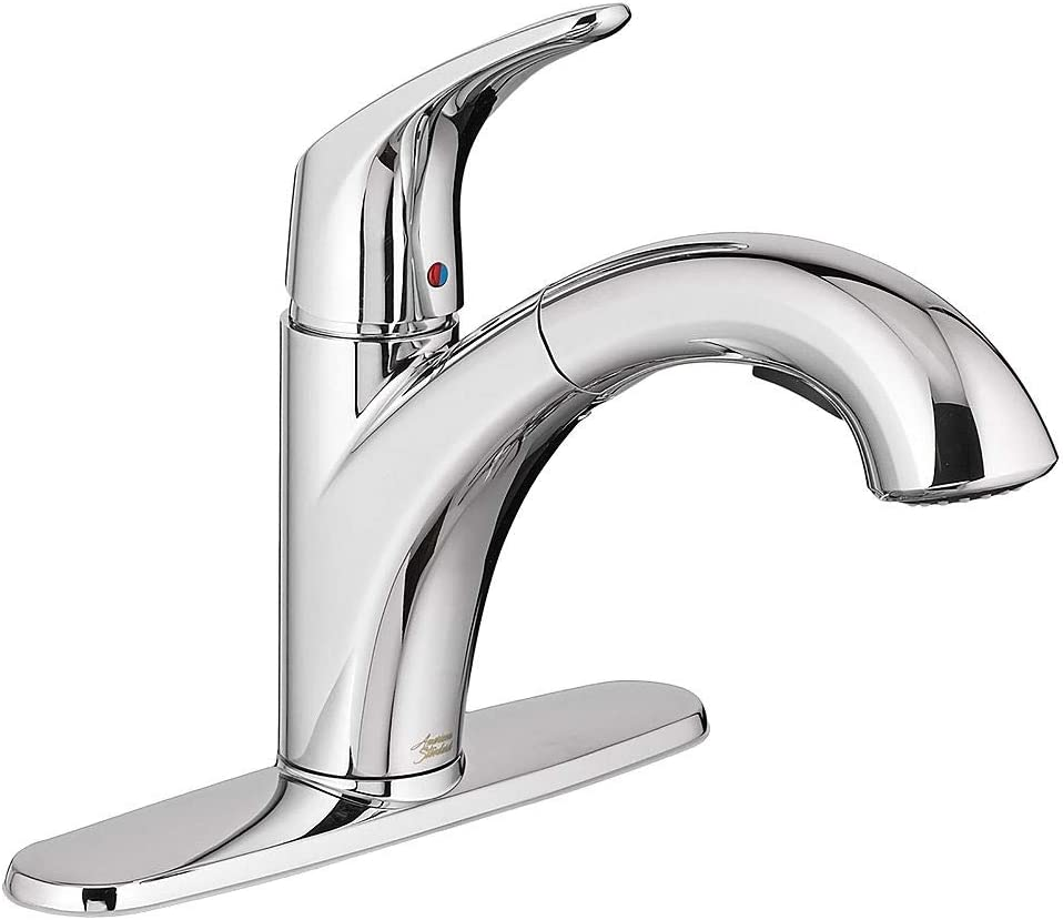 American Standard 7074100.002 Colony Pro Pull-Out Kitchen Faucet, Polished Chrome
