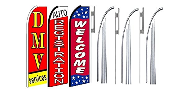 JEWELRY REPAIR 15 WINDLESS SWOOPER FLAGS KIT three 3