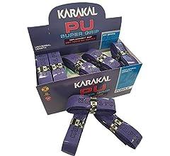 Karakal PU Supergrip replacement racquet grip - tennis / badminton ...