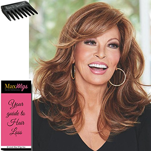 Curve Appeal Lace Front Wig in Honey Ginger by Raquel Welch Wigs