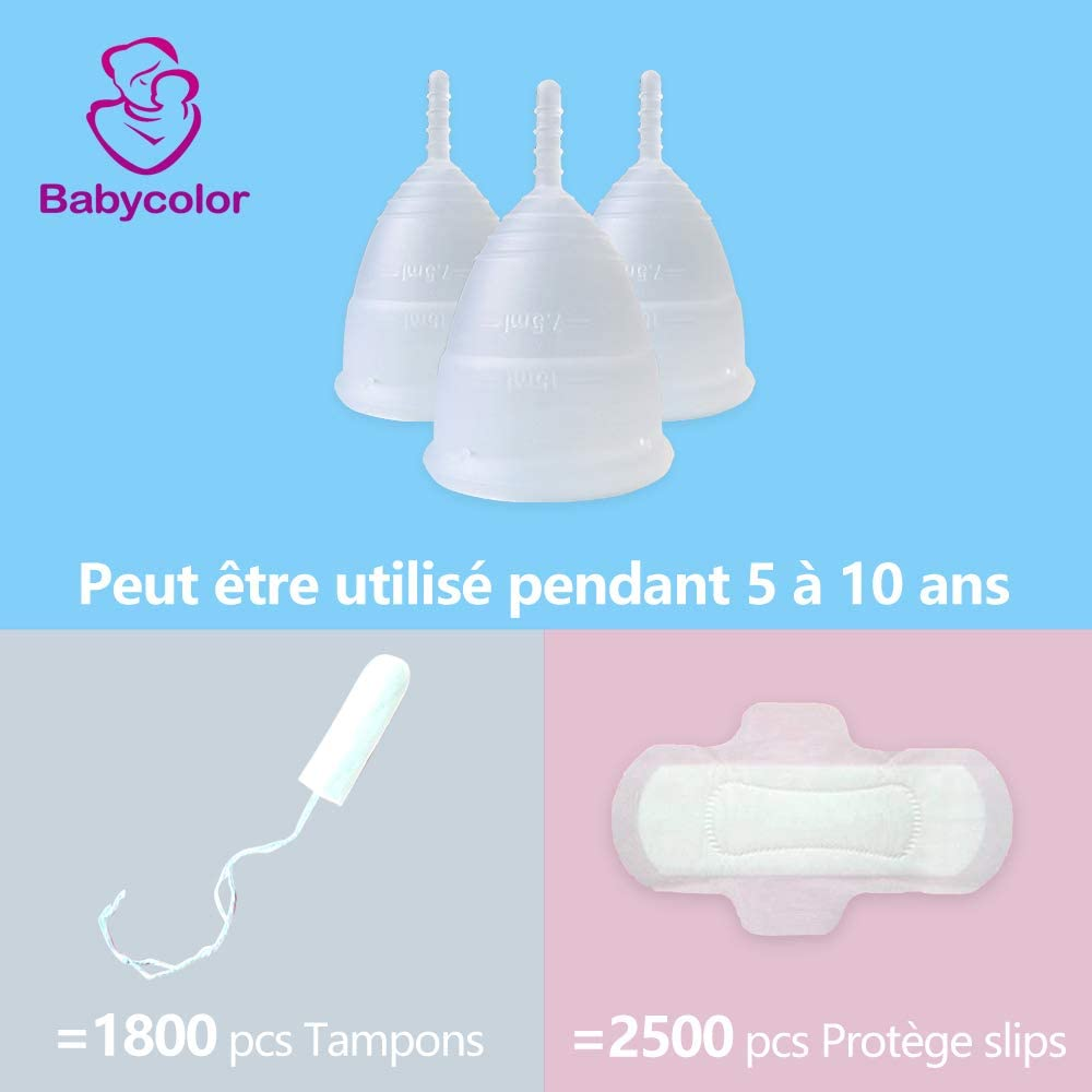 Copa menstrual de silicona – Bio Copa Menstrual Talla S/L ...