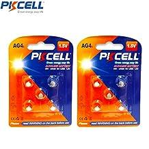 10 Pack 1.5V LR66 LR626 GP377 V377 376 606 177 Button Batteries