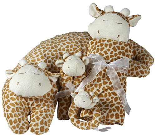 EXCLUSIVE Angel Dear Giraffe 4Pc Set - Exclusive Giraffe