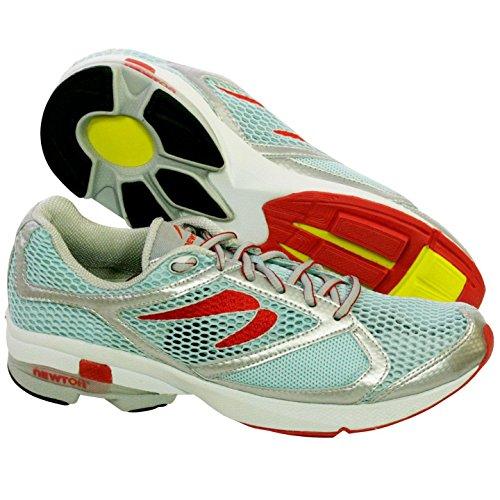 Newton Gravity Womens Running Shoes Aqua/Silver 9.5 M