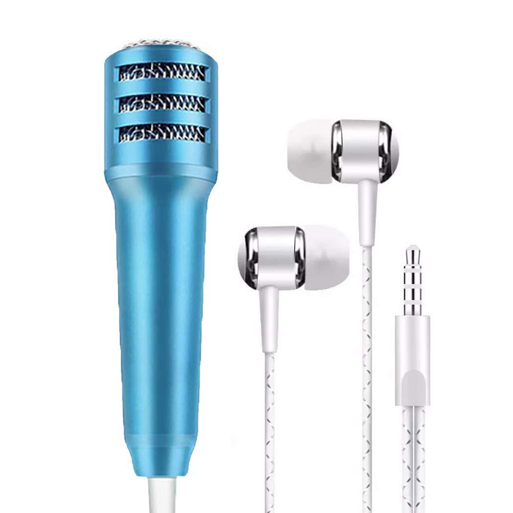 Bangcool Mini Portatile Handheld Musica Mic Stereo Microfono per Smartphone ZGY10R55X25TIBDWOCX14RJLS