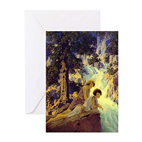 CafePress Waterfall Blank Greeting Cards Greeting Card, Note Card, Birthday Card, Blank Inside Matte