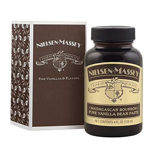 - Nielsen-Massey Madagascar Bourbon Pure Vanilla Bean Paste, with gift box, 4 oz