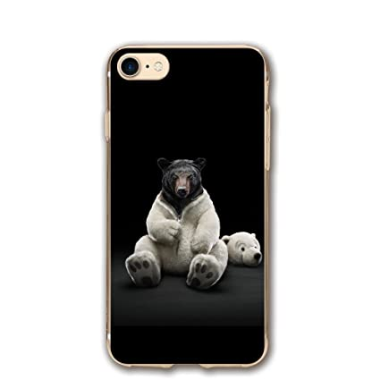 Amazon Com Case For Iphone 7 Bear Funny 4k Ultra Hd