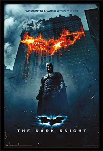 "Trends International Dark Knight One Sheet Fire, 22.375"" x 3"