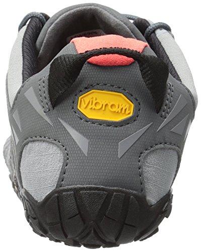 Grey Grigio V Fivefingers Orange da Donna Trail Black Vibram Corsa Scarpe 504wd88Ox