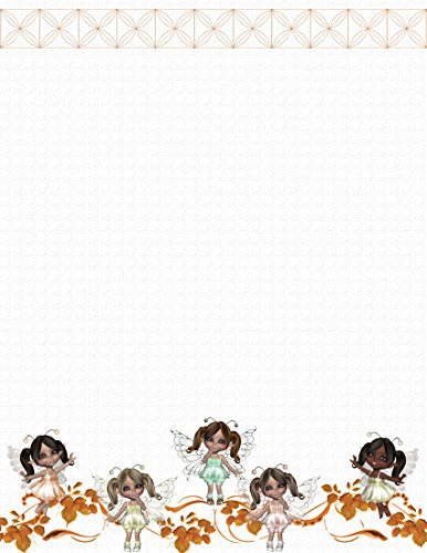 - NEW Fairy Dolls Letterhead Stationery Paper 26 Sheets