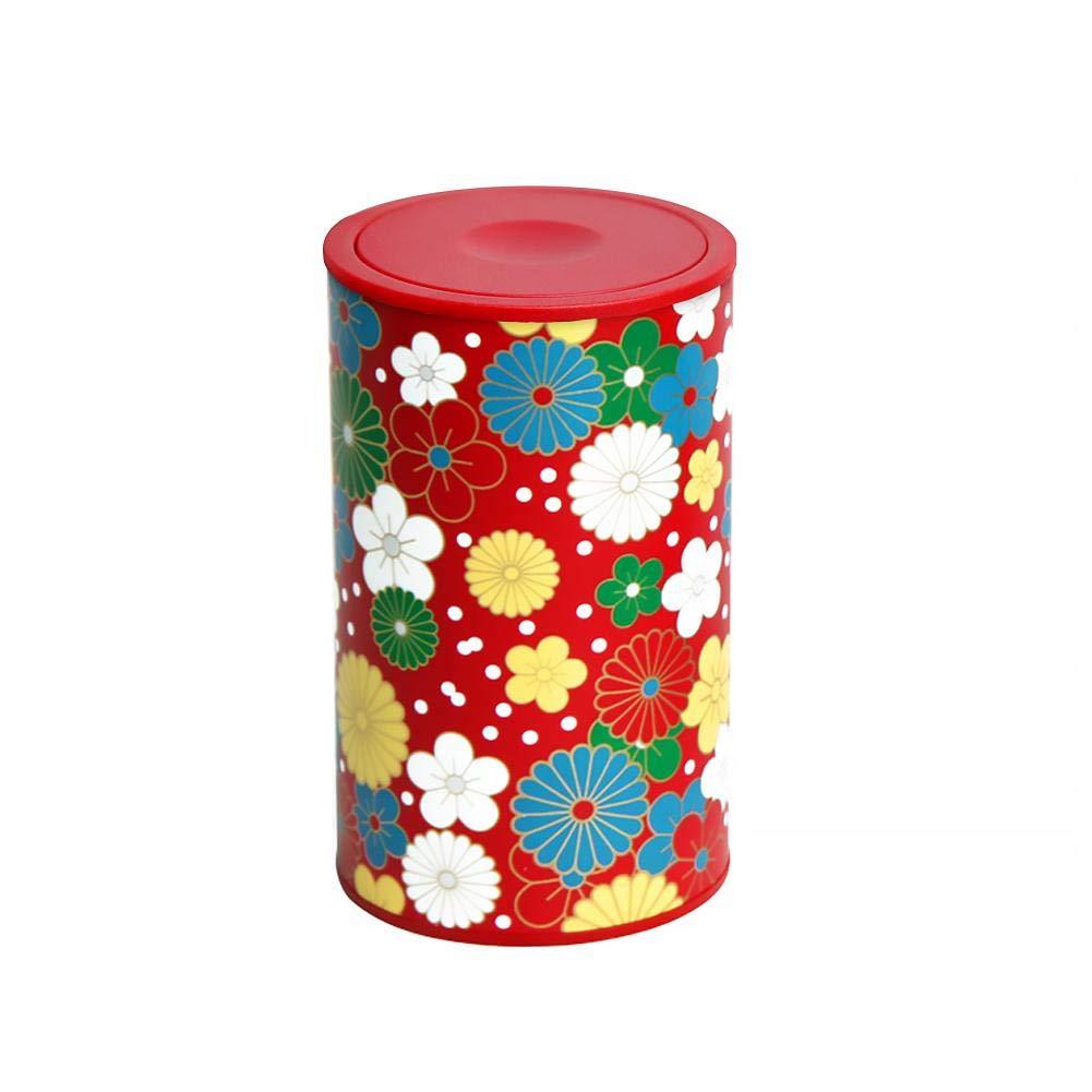 Diuspeed Zahnstocher Halter, Zahnstocher Box Modische Kaleidoskop Zahnstocher Halter Automatisch Snap-on Ethnic Style Zahnstocher Flasche