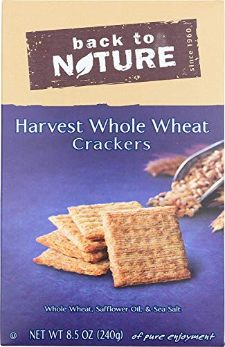 Back to Nature Non-GMO Harvest Whole Wheat Crackers, 8.5 - Grain Harvest