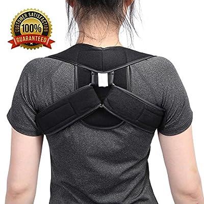 The Best Unisex Adjustable Posture Corrector Belt Children Adult Poor Posture Back Shoulder Belt Brace Supports Correction Belt