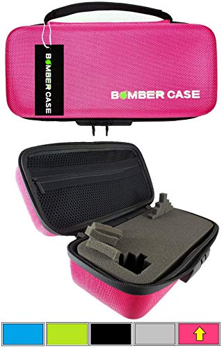BOMBER CASE - Stash Case - Locking - Smell Proof - Customizable Foam Interior - Holds up to 9.5