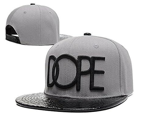 Hip Hop ajustable DOPE Snapback Gorra de béisbol de Lu: Amazon.es ...