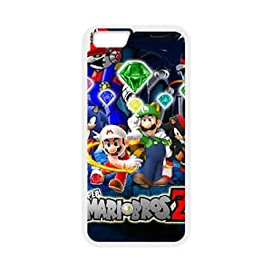 iPhone 6 4.7 inch Cell Phone Case White Super Mario Bros Popular Games image KOL1349809