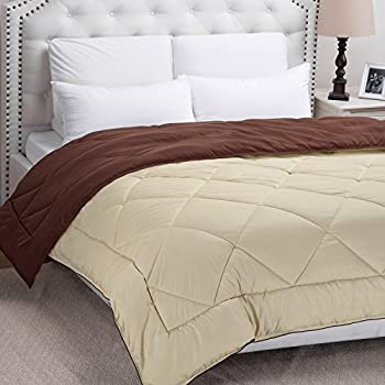 Bedsure Twin Reversible Quilted Down Alternative Comforter Duvet