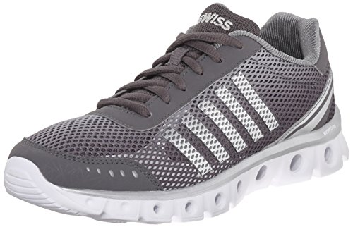 K-Swiss Men's X Lite Athletic CMF Athletic, Charcoal/High Rise/White, 12 M US