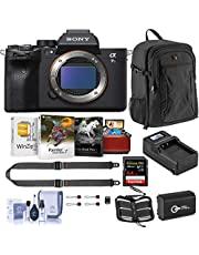 $3498 » Sony Alpha a7S III Mirrorless Digital Camera Body Bundle with Neck Strap, Extra Battery, Charger, Backpack, 64GB SD Card, Corel Mac Software Kit and Accessories