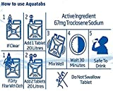 Aquatabs 100 Pack - World's #1 Water Purification Tablets