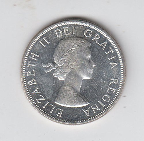 1963 Canada - Canadian Silver Dollar Coin $1 About Uncirculated (Canadian Silver Dollar)