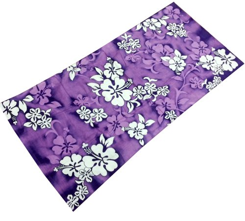Purple Hibiscus Flowers Reactive Beach Towel 30 X 60 Buy Online