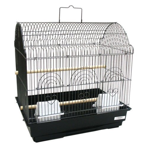 YML 3/8 in. Bar Spacing Barn Top Bird Cage, My Pet Supplies